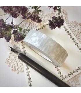 Classiky Tape Small Flower Beige