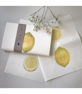 Classiky Kaishi Washi Paper Lemon