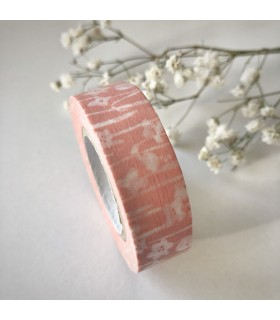 Classiky Masking Tape Small Flower Pink