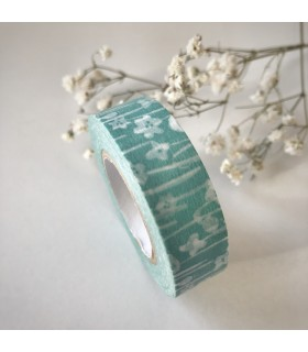 Classiky Masking Tape Small Flower Blue