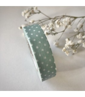 Classiky Tape Pin Dots Ash Blue