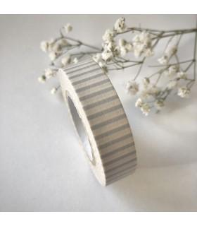 Classiky Tape Stripe Silver Gray