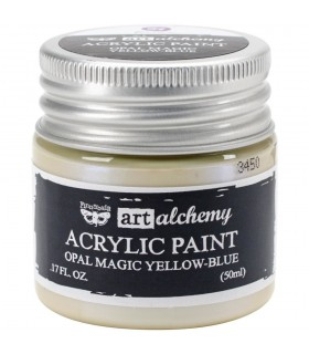 Acrylic Paint - Opal Magic Yellow-Blue