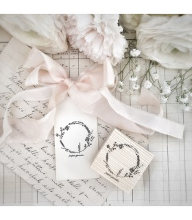 OHS Paper Garden Wreath