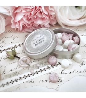 Paper Garden Seeds: Wax Seal Granules, pink-ivory