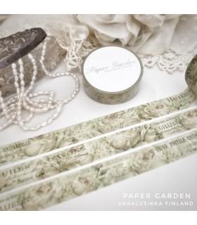 Paper Garden Masking Tape Ruusu 2