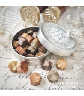 Paper Garden Seeds: Wax Seal Granules, golden bronze