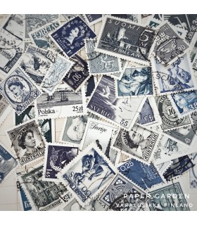 Vintage Stamps - Blues