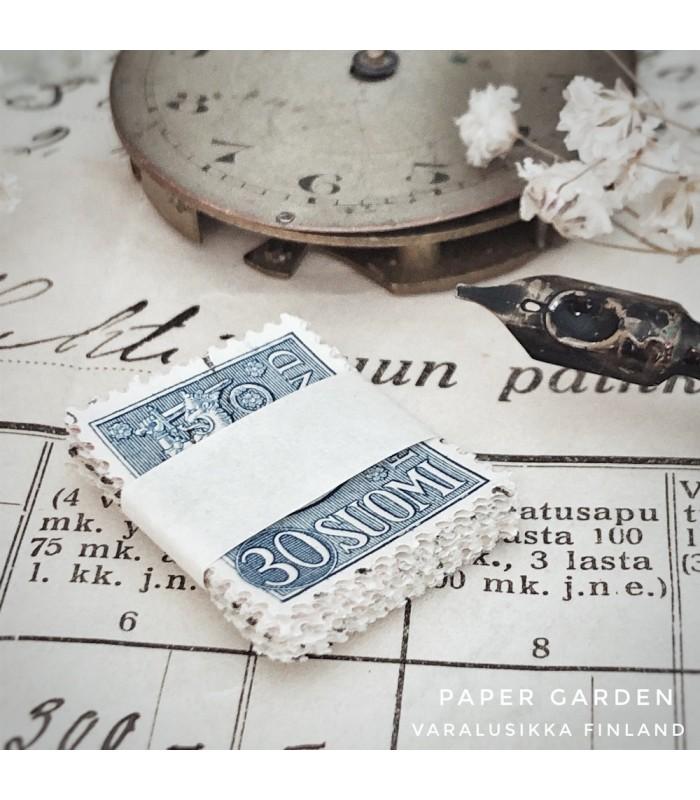 Postimerkit - Suomi sininen 30