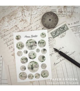 Paper Garden pienet ympyrätarrat, Kielo