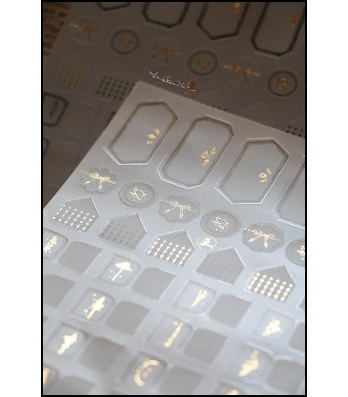 LCN - Journal Labeling Sticker Set