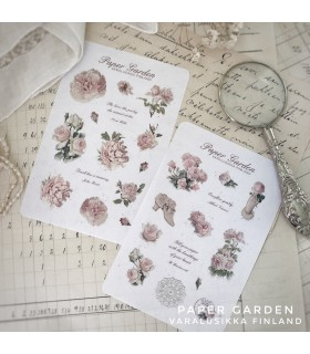 PG Sticker Set Pink - Sweet Roses