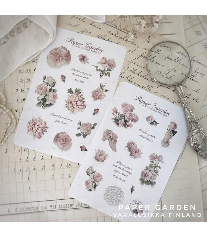 PG Sticker Set Pink - Sweet Roses