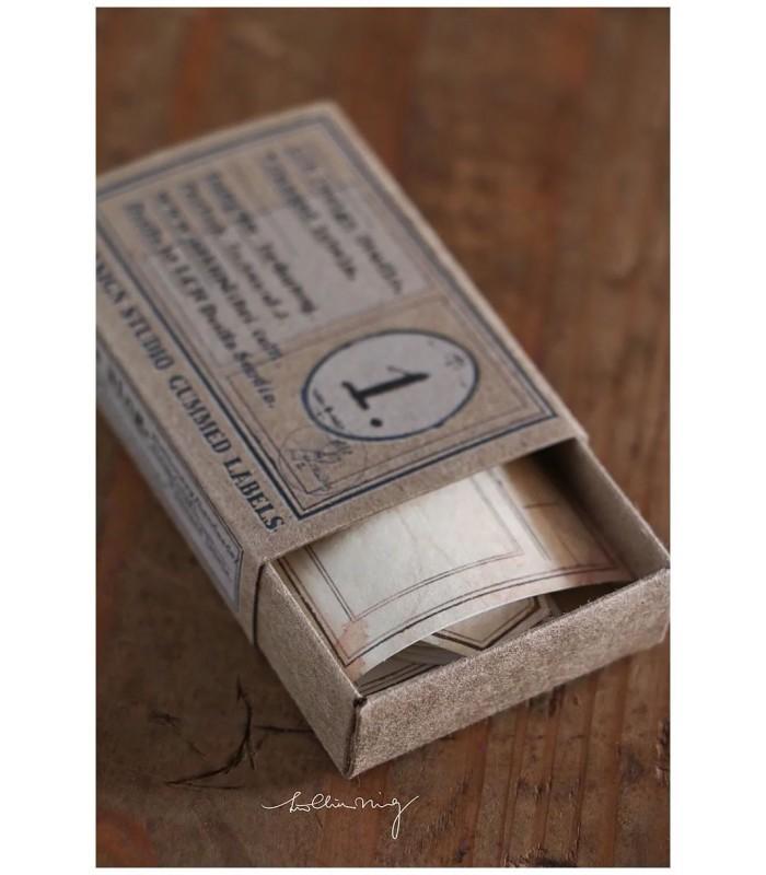 LCN - Specimen Labels Box No 1.