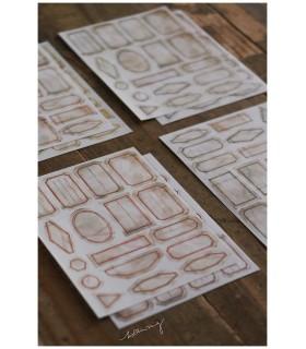 LCN - Mini Vintage Label Stickers