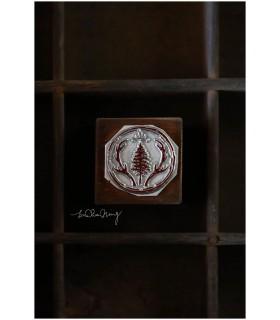 LCN - Reindeer Antlers Metal Stamp 18mm