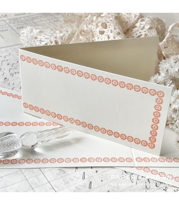 Classiky Folded Memo Card Orange