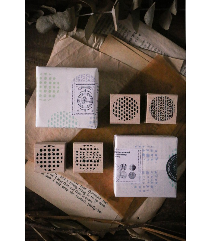 LCN - Pattern, Round Stamp Set