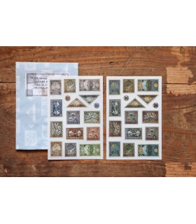 LCN Print-on Stickers - Postage Stamp