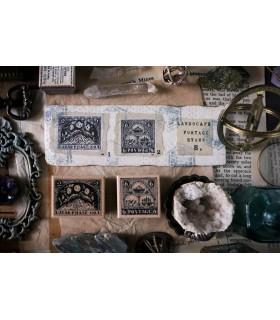 LCN - Landscape Postage B. Stamp Set