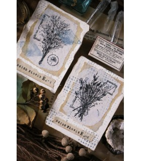 LCN Dried Flower Stamp Set E