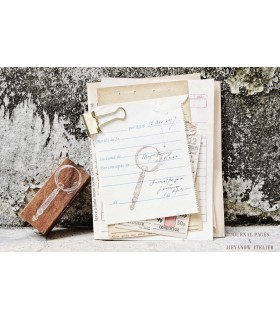 Jieyanow Atelier - Magnifying Glass Stamp