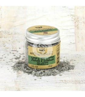 Finnabair Art Ingredients: Mica Flakes - Granite
