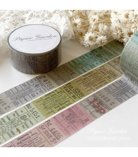 PG Washi Tape Sateenkaari 20mm