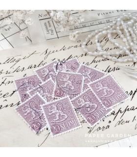 Vintage Stamps - Finnish Pink 20 Bundle