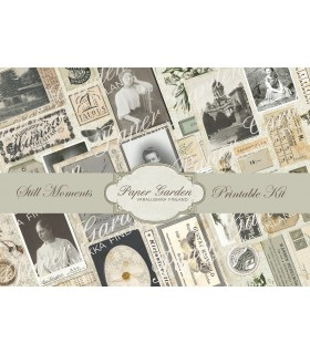Tulostettava Still Moments PDF Journaling Kit