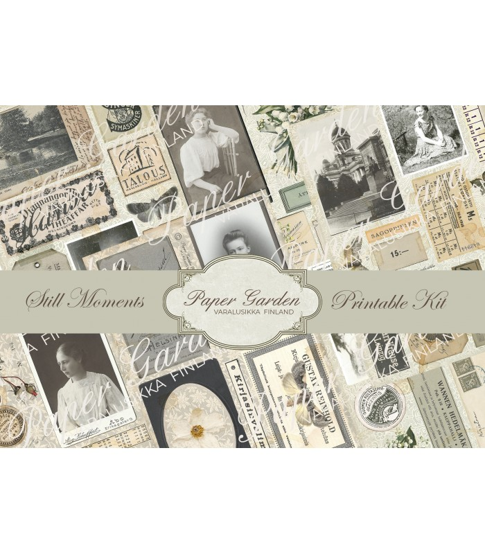 Tulostettava Still Moments PDF Journaling Kit