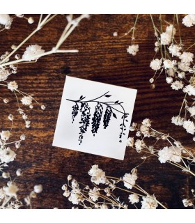 OHS - Wisteria Stamp