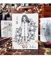 OHS - FLOWER GIRLS: Spring, Sakura Stamp