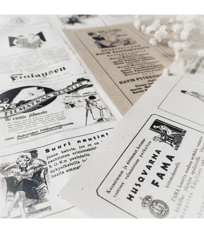 Digital Vintage Ads PDF Kit