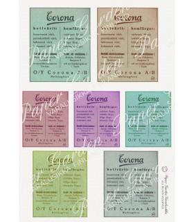 FREE! Digital Vintage Finnish Corona Ad PDF