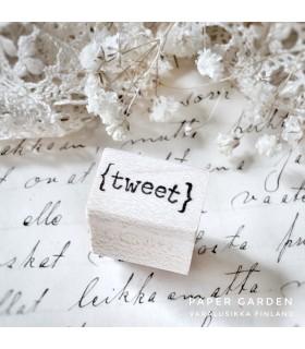 CLP Tweet - XS leimasin