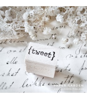 CLP Tweet - XS Rubber Stamp