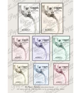 LAHJA! No. 2 Digitaalinen Corona vintagemainos PDF