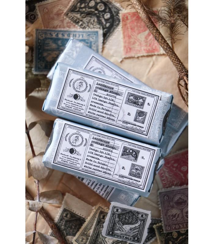 LCN - Landscape Postage C. Stamp Set
