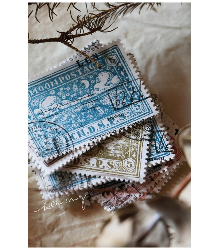 LCN - Postage Stamp Paper Pad No. 1
