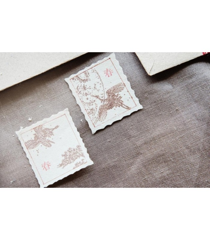 Jieyanow Atelier - The Folk Collection, Set of 2 Stamps