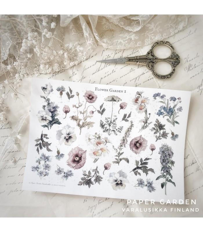PG Flower Garden1. Cut & Paste Sticker Sheet