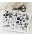 PG Flower Garden 2 Cut & Paste -tarra-arkki