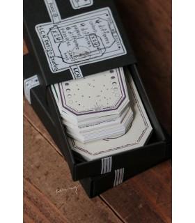 LCN - Letterpress Vintage tag set B.