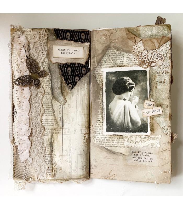 Darkest Before Dawn Vintage Journal Kit