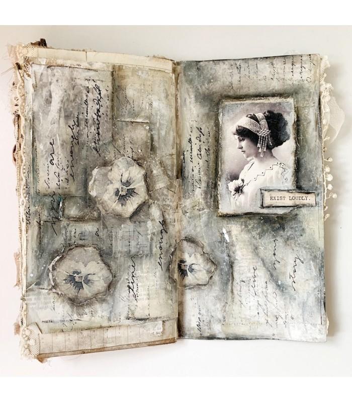 Darkest Before Dawn vintage journal -paketti