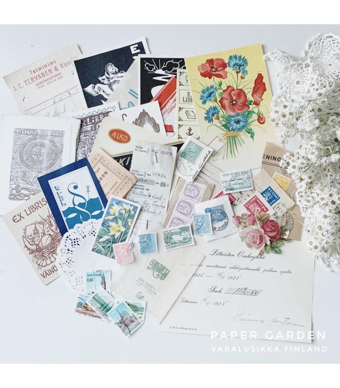 Happy Vintage Ephemera Bundle