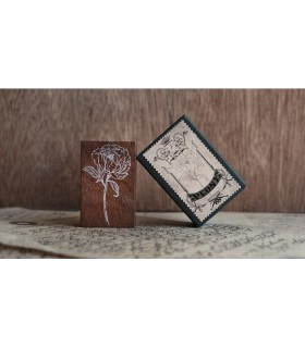 Jieyanow Atelier - Peony Stamp, Garden of Inspiration Series