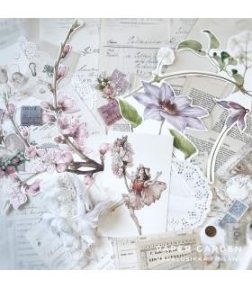 Satukevät -vintagepaperisetti