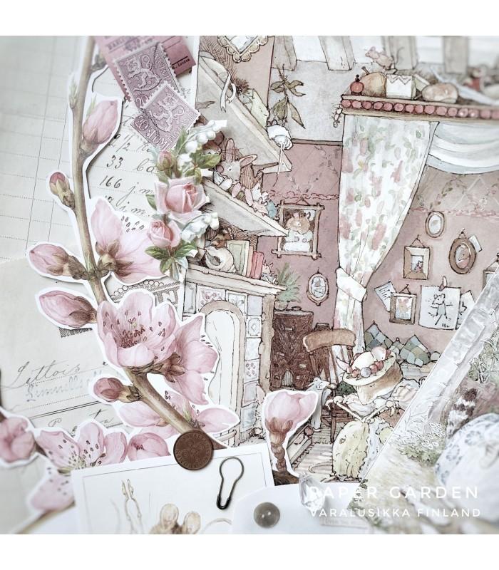 Fairytale Spring Vintage Paper Bundle